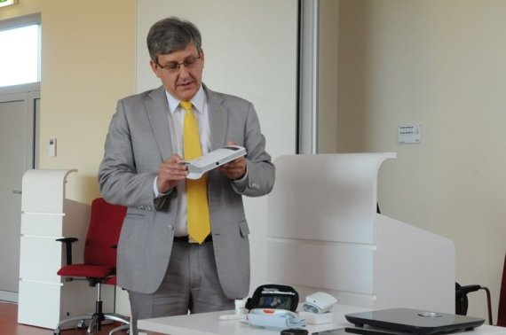 Santaros klinikų nuotr./Santaros klinikų Informatikos ir plėtros centro direktorius Romualdas Kizlaitis