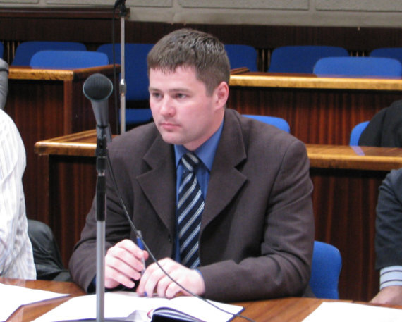 Aurelijos Kripaitės/15min.lt nuotr./Atvirą laišką prezidentei pasirašė ir tarybos narys Viačeslavas Titovas.