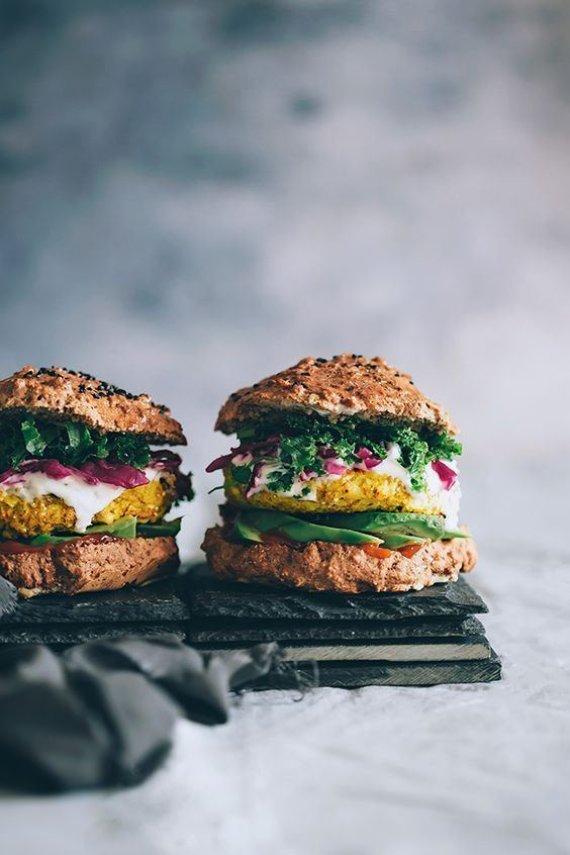 Vegetariškas mėsainis