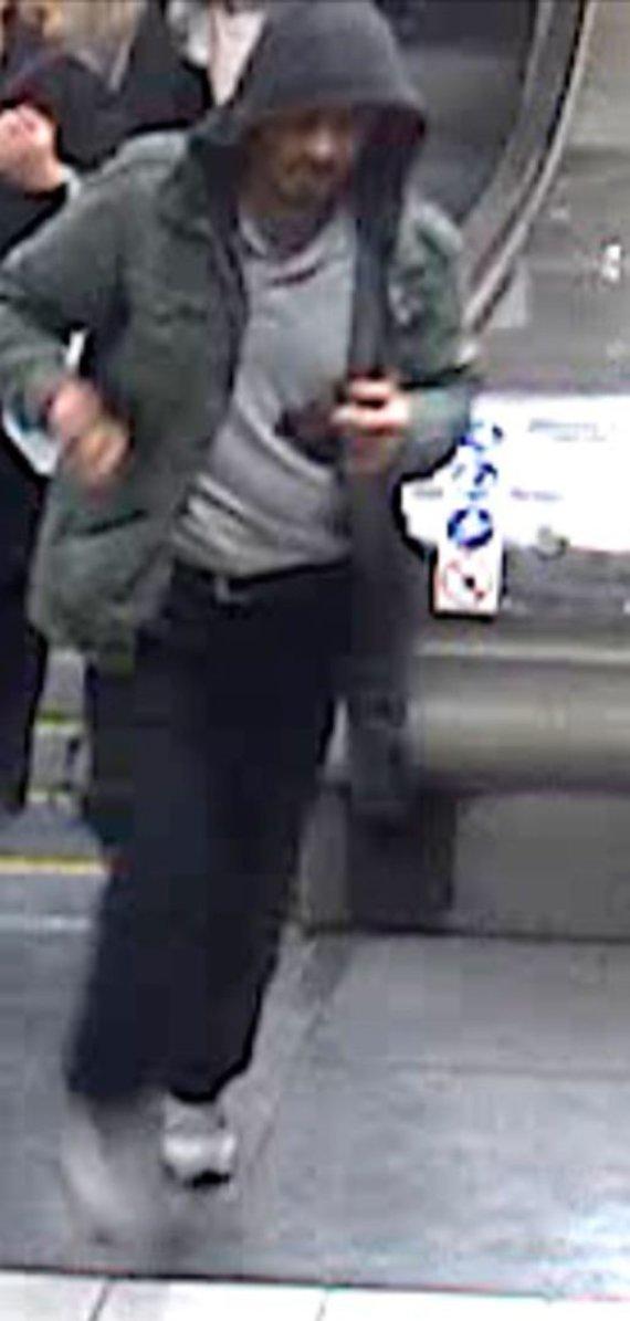 Švedijos policijos nuotr./Švedijos policija išplatino šio vyriškio nuotrauką.