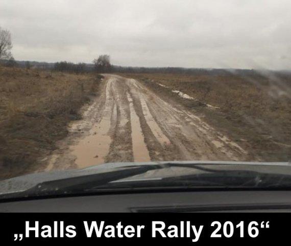 """Halls Water Rally"""