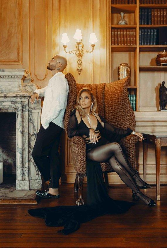 Sony Music nuotr./Maluma ir Jennifer Lopez