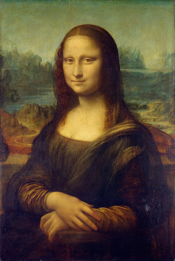 "wikimedia.org nuotr./Leonardo Da Vinci ""Mona Liza"""