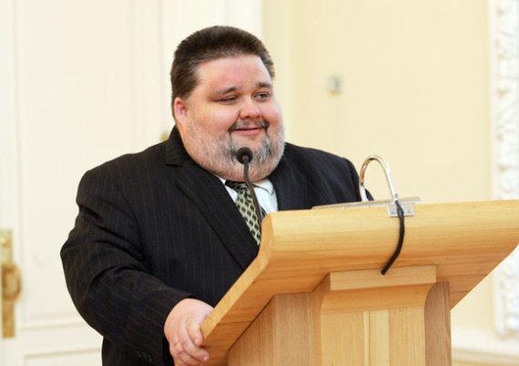 A.Koroliovo nuotr./2010 metų Tolerancijos žmogumi paskelbtas Bernardinai.lt vyriausiasis redaktorius Andrius Navickas.