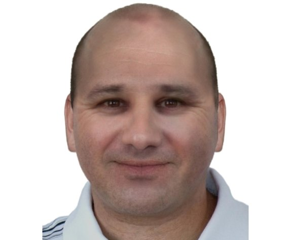 Policijos departamento montažas/Ekspertų pasendinto R.Zamolskio atvaizdas