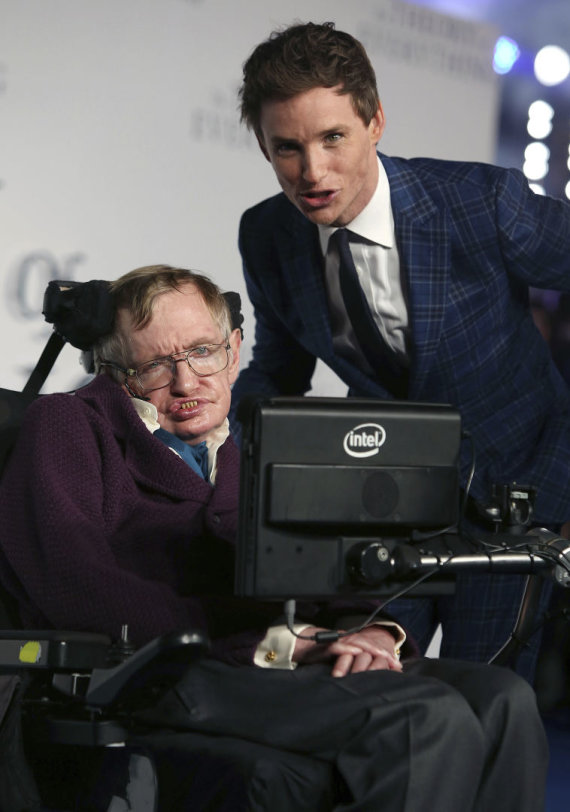 """Scanpix""/AP nuotr./Stephenas Hawkingas"