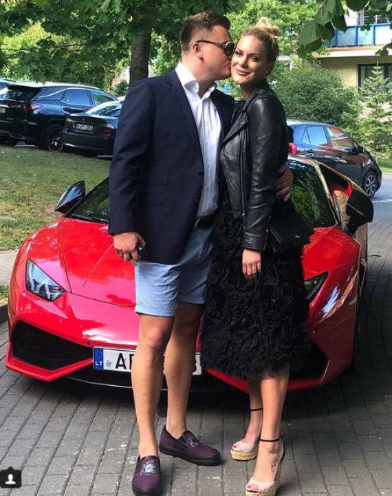 Socialinių tinklų nuotr./Paulius Aršauskas ir Eglė Malinauskaitė