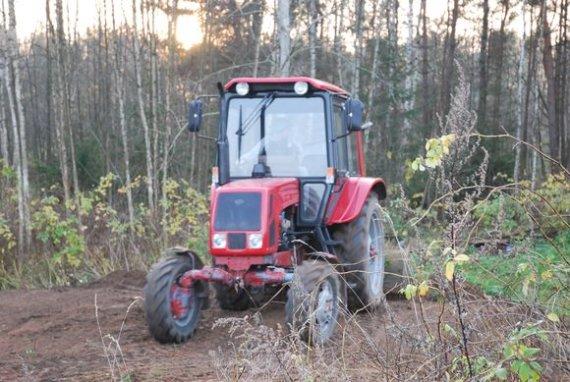 Sauliaus Chadasevičiaus / 15min nuotr./Baltarusiškas traktorius MTZ
