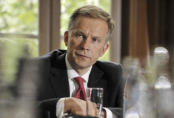 """Reuters""/""Scanpix"" nuotr./Latvijos centrinio banko vadovas Ilmaras Rimševičius"