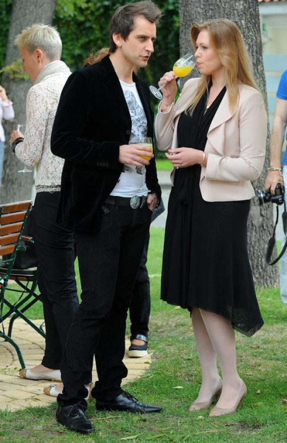 Luko Balandžio nuotr./Alanas Chošnau su žmona Valda Rukštelyte