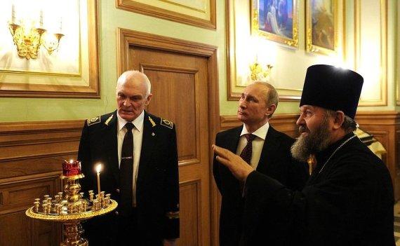 Vladimiras Litvinenka ir Vladimiras Putinas