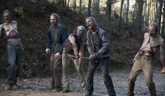 "Kadras iš serialo ""The Walking Dead"""