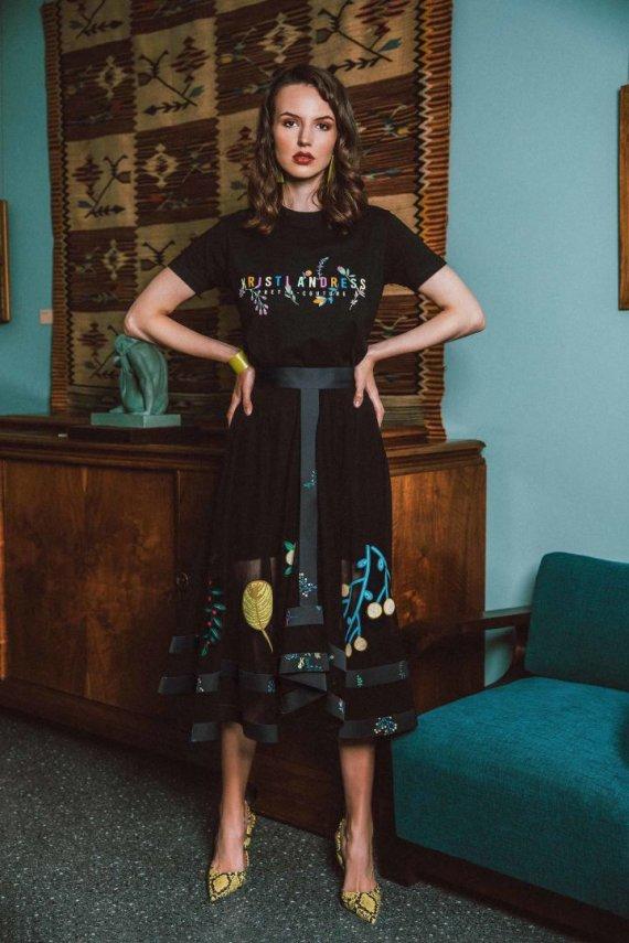 """""""Kristi Andress"""" nuotr./K.Kalinauskaitės 2019–2020 m. rudens ir žiemos kolekcijos modeliai"""