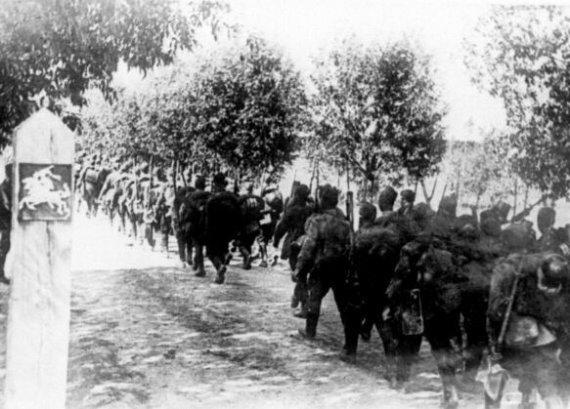 LCVA nuotr./Lietuvos okupacija 1940 m.