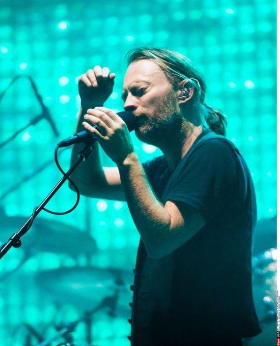 """Scanpix"" nuotr./""Radiohead"" koncertas"