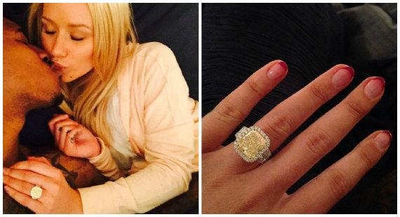 """""""Instagram"""" nuotr./Reperė Iggy Azalea susižadėjo su krepšininku Nicku Youngu"""