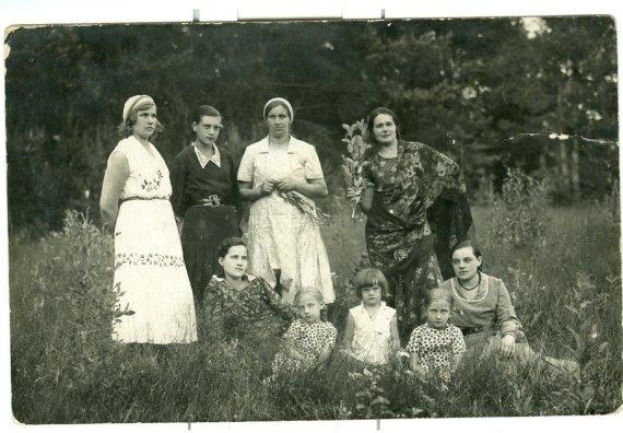 Iš asmeninio Vareikių šeimos archyvo/Šeima