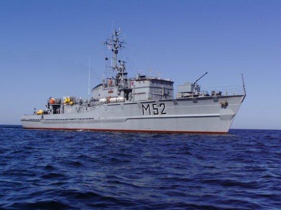 "KJP nuotr./Laivas M52 ,,Sūduvis"""