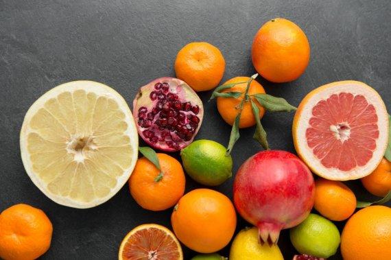 Vida Press nuotr./Įvairūs vaisiai