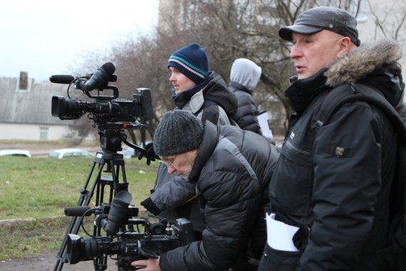 TV3 nuotr. /Sigitas Račkys filmavimo aikštelėje
