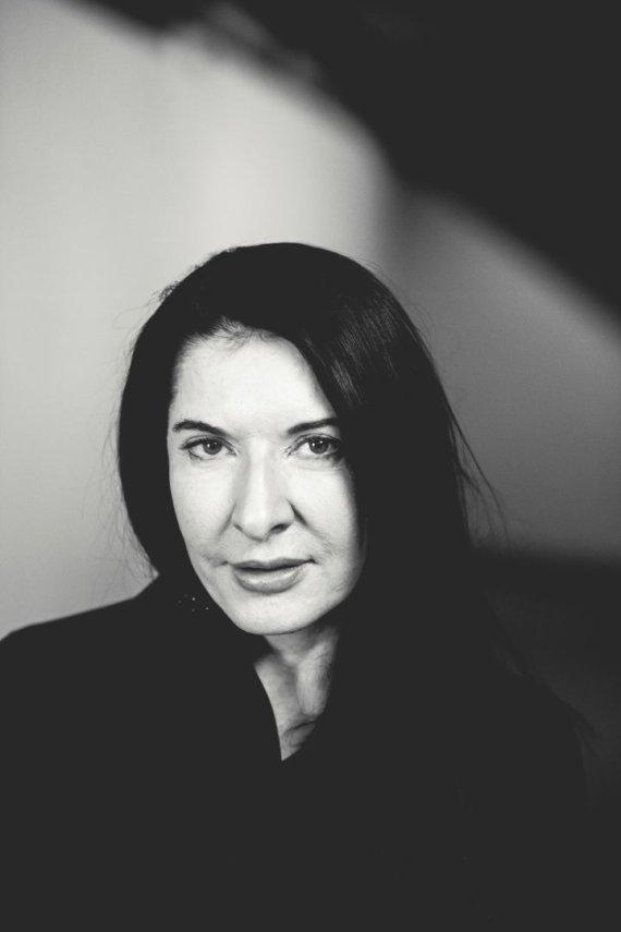 "Nilso Müllero ir ""Wertical"" nuotr./Marina Abramovič, 2014 m."
