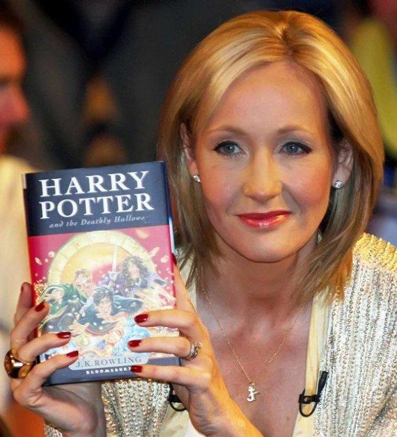 """Scanpix"" nuotr./J.K.Rowling"