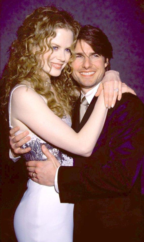 Image by Vida Press / Nicole Kidman and Tom Cruise (1998)  t