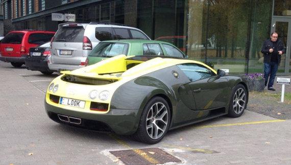 "Facebook.com nuotr./""Bugatti Veyron Grand Sport Vitesse"""