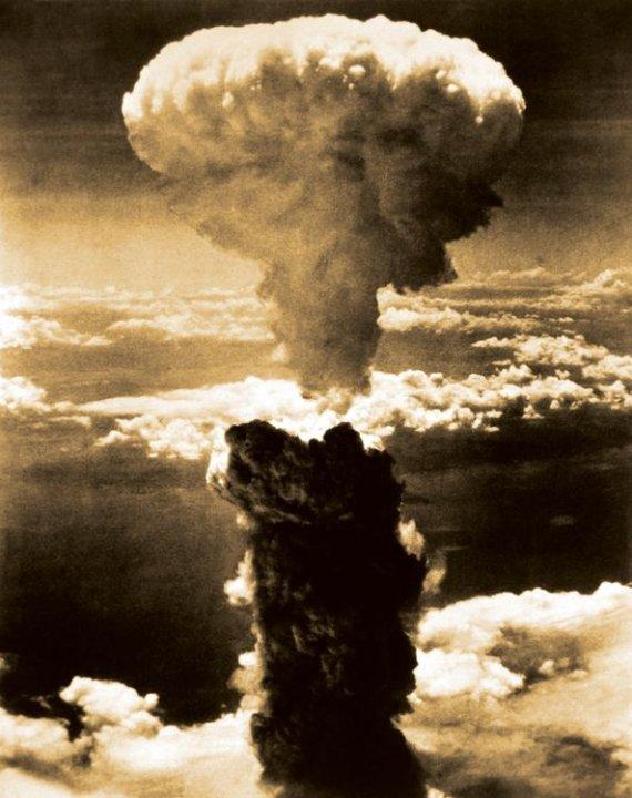"""""""Reuters""""/""""Scanpix"""" nuotr./Atominis Nagasakio bombardavimas"""