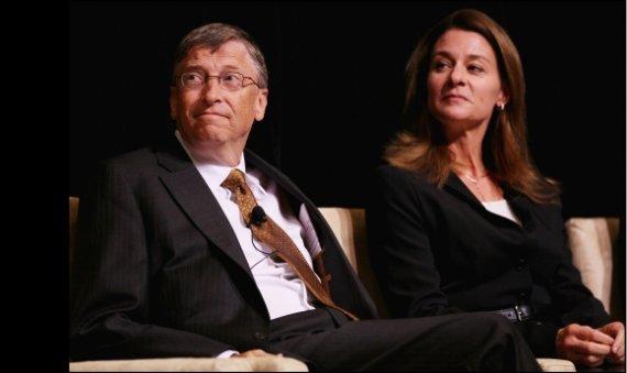 """AFP/""""Scanpix"""" nuotr./Billas ir Melinda Gatesai"""