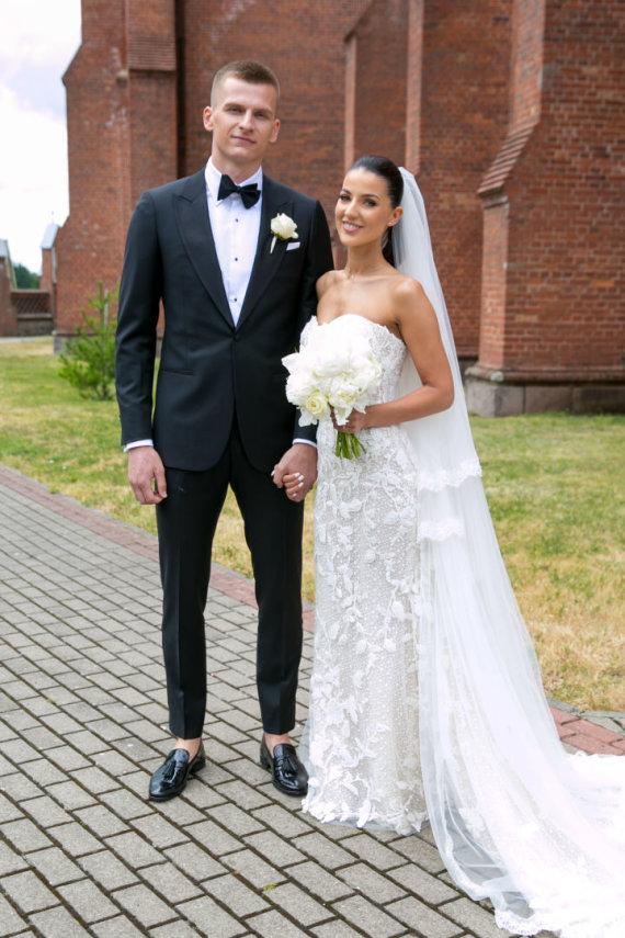 Juliaus Kalinsko / 15min nuotr./Arno Butkevičiaus ir Lauritos Vilkaitės vestuvės