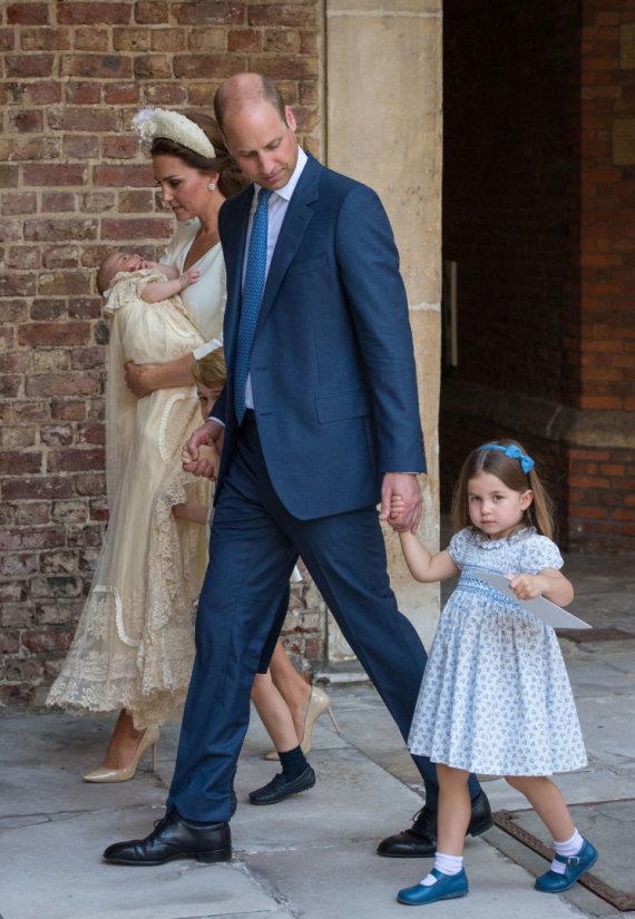 """AFP/""""Scanpix"""" nuotr./Princo Louiso krikštynos"""