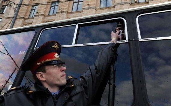 """AFP/""""Scanpix"""" nuotr./Rusijos policija"""