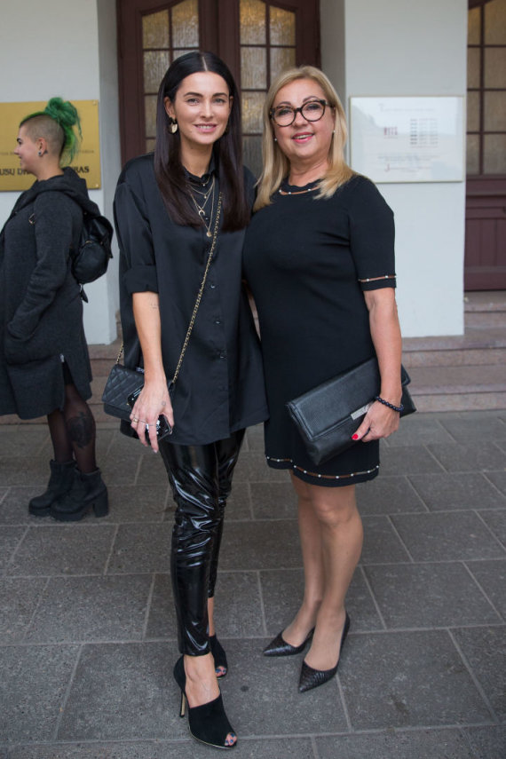 Luko Balandžio / 15min nuotr./Agnė Jagelavičiūtė su mama Nijole Jagelavičiene