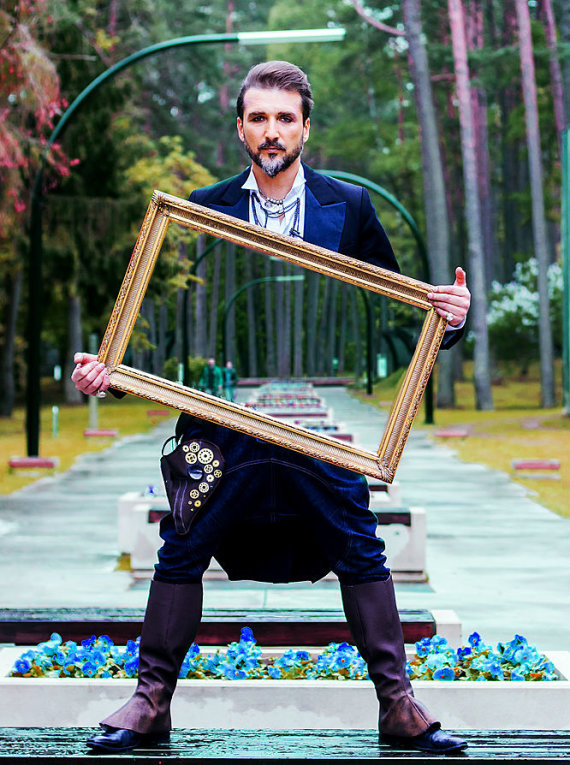 Asmeninio albumo nuotr./Arvydas Gaičiūnas pristatė savo tapybos parodą