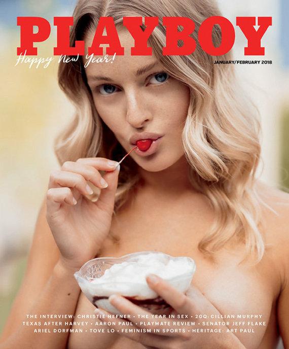 """Christopher von Steinbach nuotr./""""Playboy"""" viršelis"""