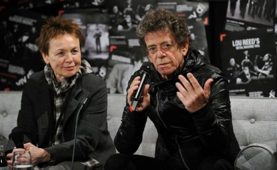 "AFP/""Scanpix"" nuotr./Laurie Anderson ir Lou Reedas"