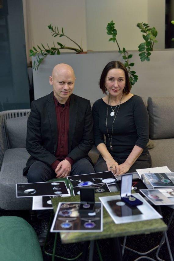Organizatorių nuotr./Gaudentas Naujokas ir Vaiva Budraitytė