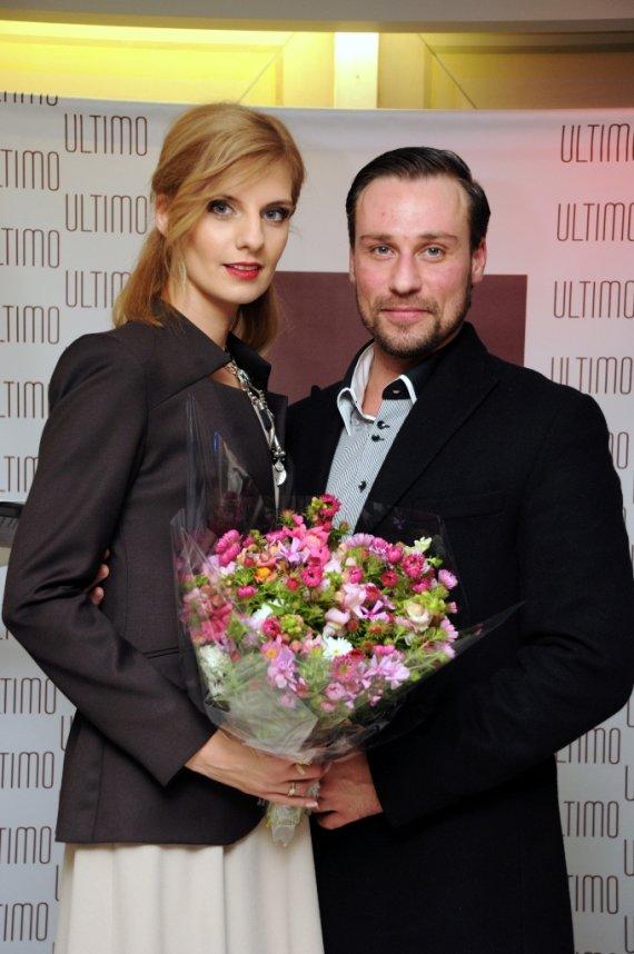 """""""Veiklios grupės"""" nuotr./Andrius kandelis su žmona Milda"""