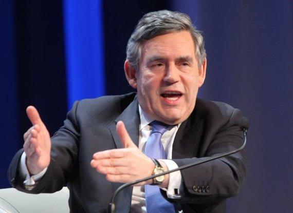 "AFP/""Scanpix"" nuotr./Gordonas Brownas"