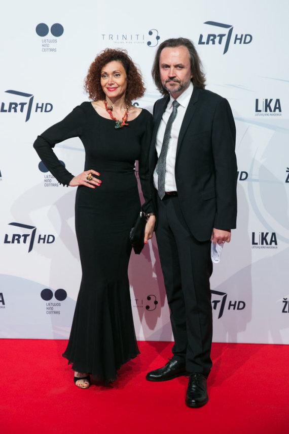 Juliaus Kalinsko / 15min nuotr./Oskaras Koršunovas ir Alexandra Kremer