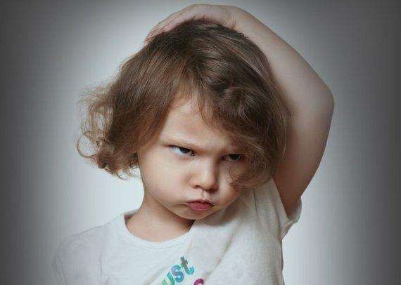 Fotolia nuotr./Pykstantis vaikas