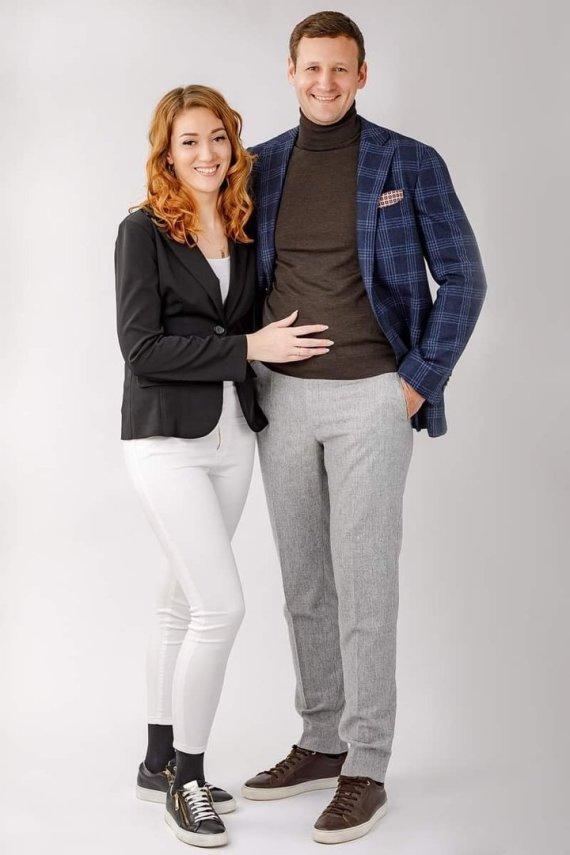 Asmeninio albumo nuotr./Marijus Balčiūnas su žmona