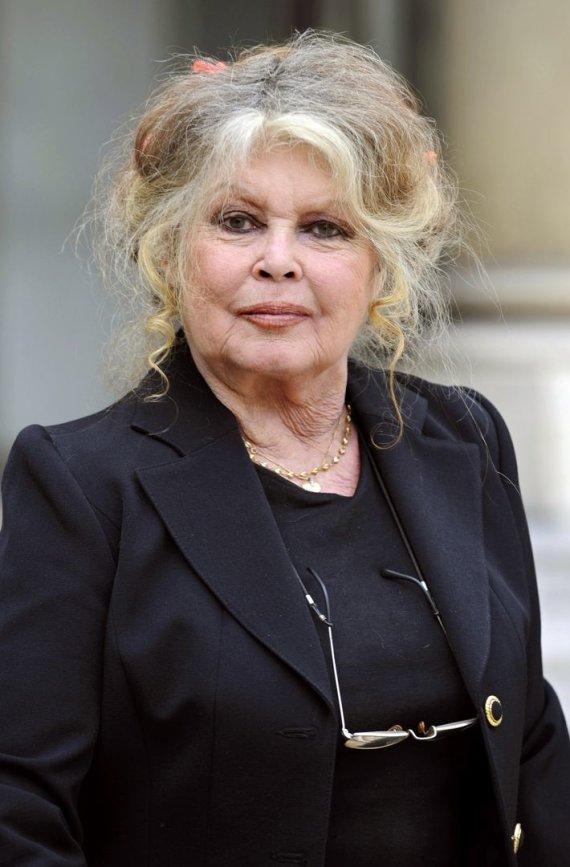 "AFP/""Scanpix"" nuotr./Brigitte Bardot 79-erių"