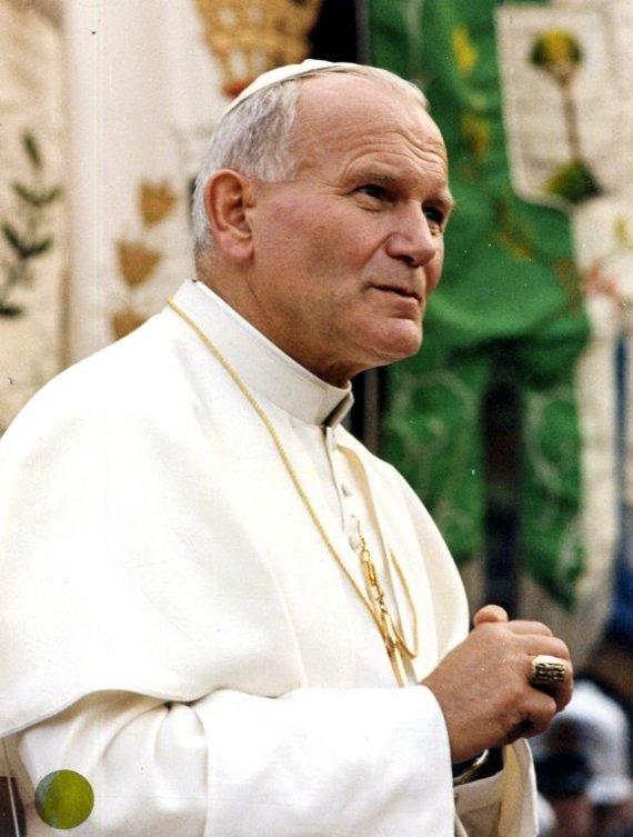 """""""Scanpix"""" nuotr./Popiežius Jonas Paulius II"""