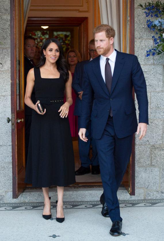 Vida Press nuotr./Sasekso hercogienė Meghan ir princas Harry