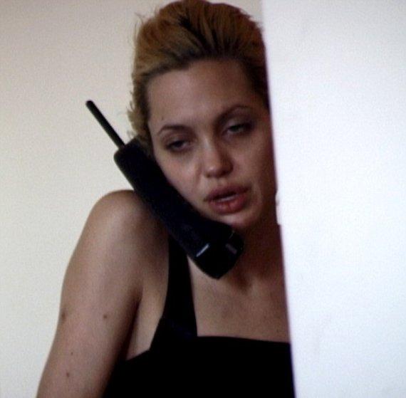 Kadras iš vaizdo įrašo/Angelina Jolie