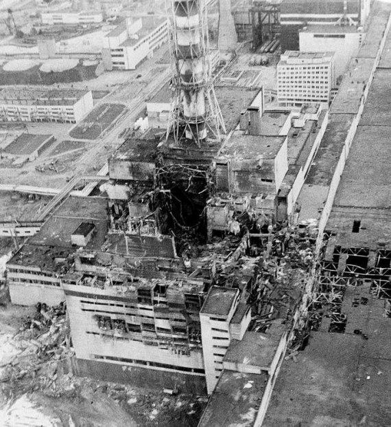 """AP/""""Scanpix"""" nuotr./Černobylio atominė elektrinė (1986 m.)"""