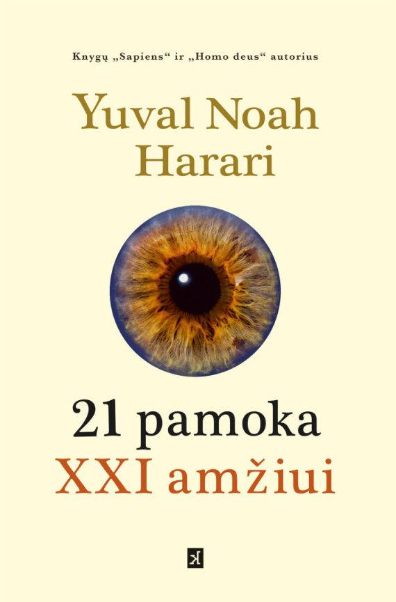 """Knygos viršelis/Knyga """"21 pamoka XXI amžiui"""""""