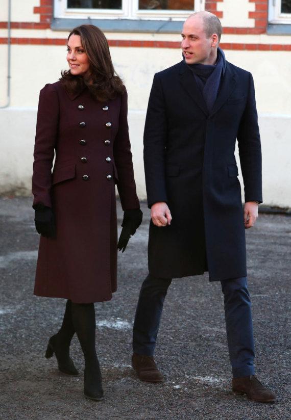 """""""Reuters""""/""""Scanpix"""" nuotr./Kembridžo hercogienė Catherine ir princas Williamas"""